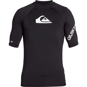 Quiksilver All Time Camiseta Manga Corta Hombre, black